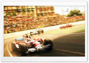 Formula 1 2008 HD Wide Wallpaper for Widescreen