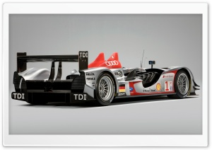 Formula 1 Audi R15 TDI 10 HD Wide Wallpaper for Widescreen