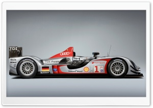 Formula 1 Audi R15 TDI 13 HD Wide Wallpaper for Widescreen