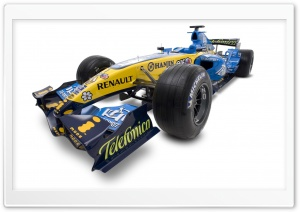 Formula 1 Car 7 HD Wide Wallpaper for Widescreen
