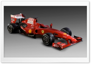 Formula 1 Ferrari Car HD Wide Wallpaper for Widescreen
