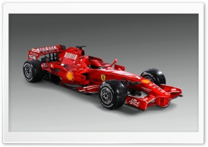 Formula 1 Ferrari F2008 HD Wide Wallpaper for Widescreen