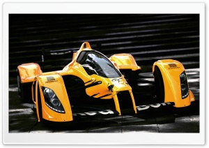 Formula 1 Orange Car HD Wide Wallpaper for Widescreen