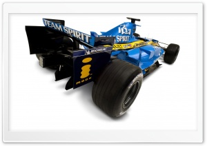 Formula 1 Renault F1 Car 1 HD Wide Wallpaper for Widescreen