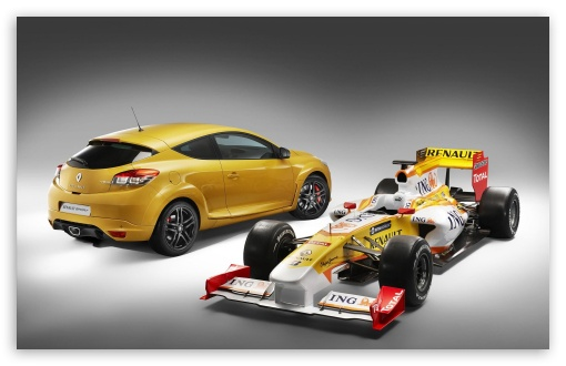 Formula 1 Renault Megane RS HD wallpaper for Wide 16:10 5:3 Widescreen WHXGA WQXGA WUXGA WXGA WGA ; HD 16:9 High Definition WQHD QWXGA 1080p 900p 720p QHD nHD ; Standard 3:2 Fullscreen DVGA HVGA HQVGA devices ( Apple PowerBook G4 iPhone 4 3G 3GS iPod Touch ) ; Mobile 5:3 3:2 16:9 - WGA DVGA HVGA HQVGA devices ( Apple PowerBook G4 iPhone 4 3G 3GS iPod Touch ) WQHD QWXGA 1080p 900p 720p QHD nHD ;