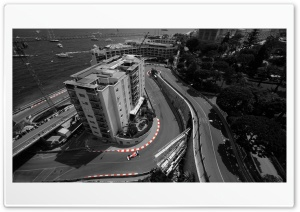 Formula 1 Track Aerial View HD Wide Wallpaper for Widescreen