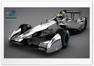 Formula E Spark-Renault HD Wide Wallpaper for Widescreen