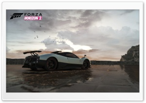 Forza Horizon 2 Pagani HD Wide Wallpaper for 4K UHD Widescreen desktop & smartphone