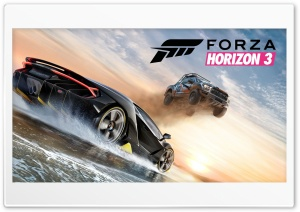 Forza Horizon 3 2016 Game HD Wide Wallpaper for Widescreen