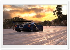 Forza Horizon 3  2017 Ford GT HD Wide Wallpaper for 4K UHD Widescreen desktop & smartphone