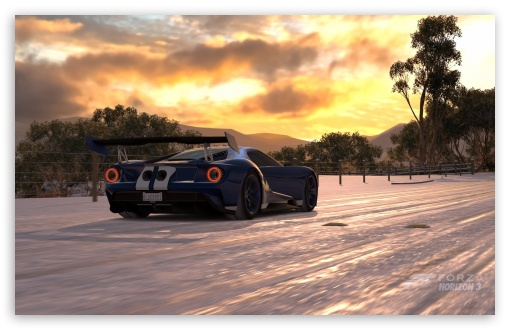 Download Forza Horizon 3 2017 Ford Gt Hd Wallpaper