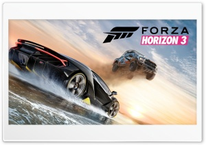 forza horizon 3 poster HD Wide Wallpaper for Widescreen