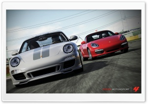 Forza Motorsport 4 Porsche HD Wide Wallpaper for Widescreen