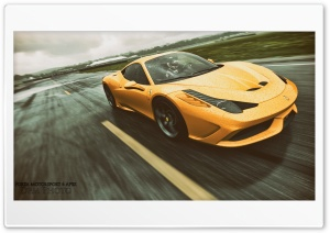 Forza Motorsport 6 458 Speciale HD Wide Wallpaper for Widescreen