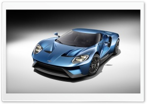 Forza Motorsport 6 Ford GT car HD Wide Wallpaper for 4K UHD Widescreen desktop & smartphone