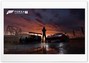 FORZA MOTORSPORT 7 - Ferrari Sunset - 3840 X 2160P HD Wide Wallpaper for 4K UHD Widescreen desktop & smartphone