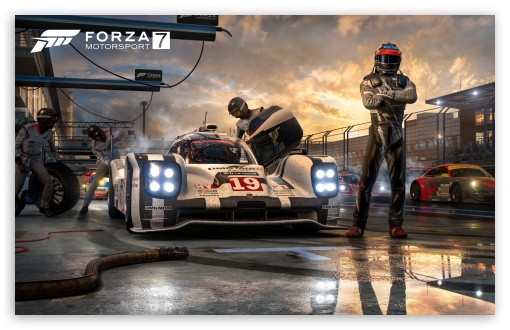 Forza Motorsport 7 Wallpapers Ultra Hd Gaming Backgrounds: Forza Motorsport 7 Video Game 4K HD Desktop Wallpaper For