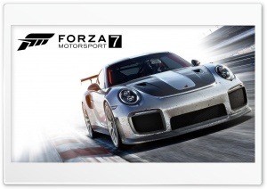 Forza Motorsport 7 Video Game 2017 Ultra HD Wallpaper for 4K UHD Widescreen desktop, tablet & smartphone