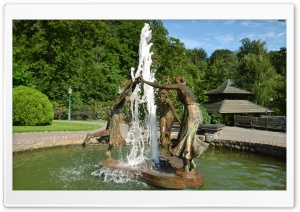 Fountain HD Wide Wallpaper for Widescreen