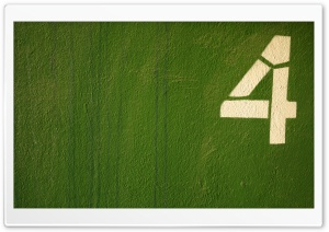 Four Green HD Wide Wallpaper for Widescreen