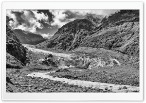 Fox Glacier, New Zealand HD Wide Wallpaper for Widescreen