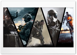 FPS gaming HD Wide Wallpaper for Widescreen