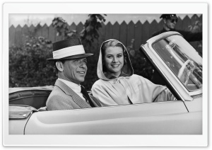 Frank Sinatra And Grace Kelly HD Wide Wallpaper for Widescreen