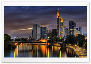 Frankfurt, Germany HD Wide Wallpaper for Widescreen