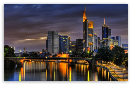 Frankfurt, Germany HD wallpaper for Wide 16:10 5:3 Widescreen WHXGA WQXGA WUXGA WXGA WGA ; HD 16:9 High Definition WQHD QWXGA 1080p 900p 720p QHD nHD ; Mobile 5:3 16:9 - WGA WQHD QWXGA 1080p 900p 720p QHD nHD ;
