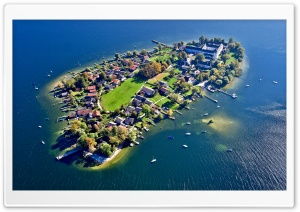Frauenchiemsee Bavaria Germany HD Wide Wallpaper for Widescreen
