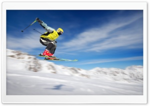 Freestyle Skiing HD Wide Wallpaper for 4K UHD Widescreen desktop & smartphone