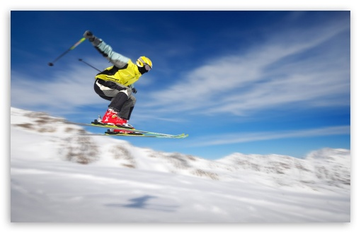 Freestyle Skiing Ultra Hd Desktop Background Wallpaper For 4k Uhd Tv Tablet Smartphone