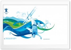 Freestyle Skiing: Aerials HD Wide Wallpaper for Widescreen
