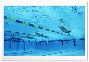 Freestyle Swimming HD Wide Wallpaper for Widescreen