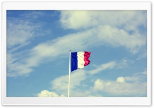 French Flag HD Wide Wallpaper for Widescreen