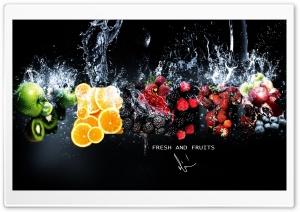 Fresh Fruits HD Wide Wallpaper for Widescreen