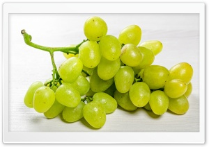 Fresh Green Grapes Ultra HD Wallpaper for 4K UHD Widescreen desktop, tablet & smartphone