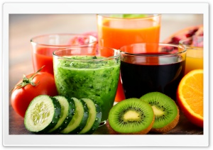 Fresh Juices HD Wide Wallpaper for Widescreen