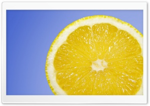 Fresh Lemon HD Wide Wallpaper for Widescreen