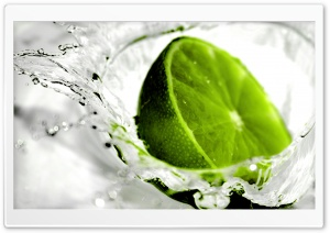 Fresh Lime HD Wide Wallpaper for 4K UHD Widescreen desktop & smartphone