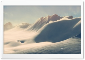 Fresh Powder on Nunatuk HD Wide Wallpaper for Widescreen