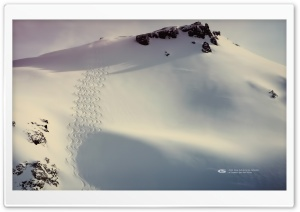 Fresh Tracks on Cathedral HD Wide Wallpaper for Widescreen