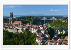 Fribourg HD Wide Wallpaper for 4K UHD Widescreen desktop & smartphone