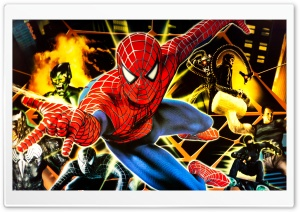 Friendly Neighborhood HD Wide Wallpaper for Widescreen