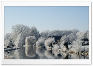 Frosty Landscape HD Wide Wallpaper for 4K UHD Widescreen desktop & smartphone