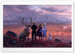Frozen 2 Movie Adventure Ultra HD Wallpaper for 4K UHD Widescreen desktop, tablet & smartphone