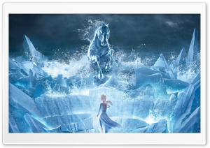 Frozen 2 movie Snow Queen Ultra HD Wallpaper for 4K UHD Widescreen desktop, tablet & smartphone