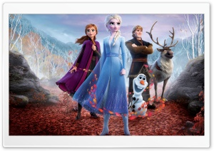 Frozen 2 movie Snow Queen...