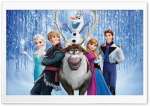 Frozen Disney Movie HD Wide Wallpaper for Widescreen
