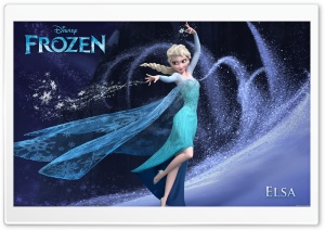 Frozen Elsa HD Wide Wallpaper for 4K UHD Widescreen desktop & smartphone